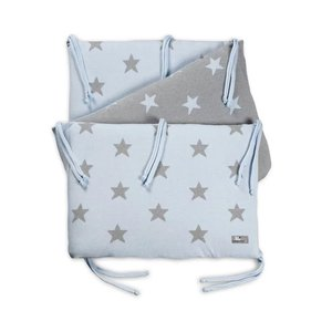 "Mantinel do postýlky - Baby's Only ""Star"" Bumper Baby Blue/Grey"