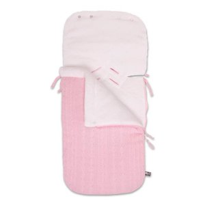 "Fusak do autosedačky Baby's Only - ""Cable Teddy Soft"" Footmuff 