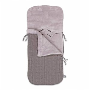 Fusak do autosedačky Baby´s Only Cable Teddy Footmuff 0+ I. | Taupe
