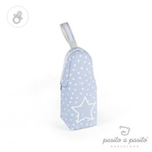 pasito a pasito® Bottle Holder Vintage Blue