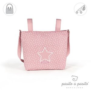 pasito a pasito® Small Changing Bag Vintage - Pink