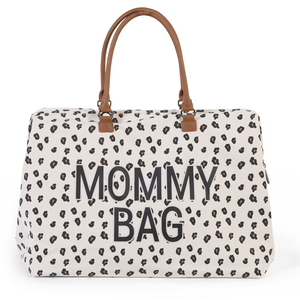 Childhome Přebalovací taška Mommy Bag | Canvas Leopard