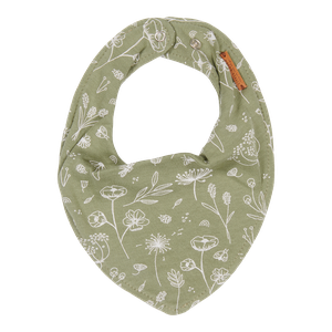 Little Dutch Bandana Bib slintáček | wild flowers olive
