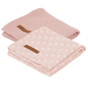 Little Dutch plena swaddle 2 ks | Lily leaves pink