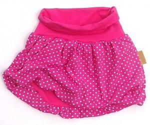 5a1245825f6 Dívčí balonová sukně Pinkie - Black Dots - MimiNiki.cz