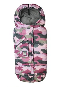 Fusak do kočárku 7 A.M. Enfant Blanket 212 Evolution | Camo Pink