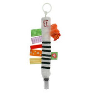 Label-Label Friends Pacifier Clip Klip na dudlík - Zebra